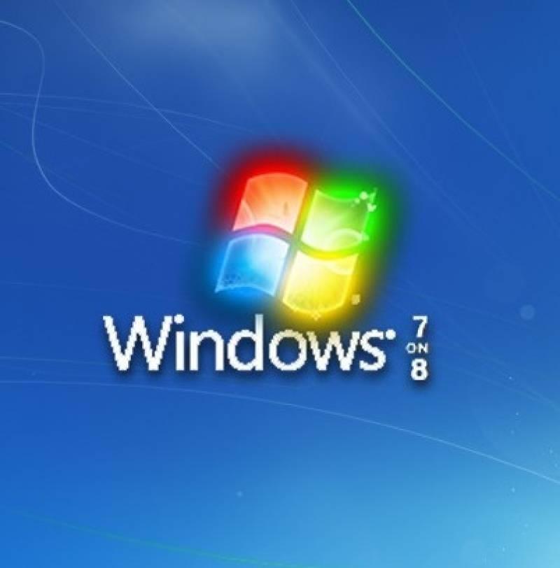Windows 7 on 8